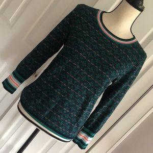 J Crew Tippi Fair Isle Sweater in M